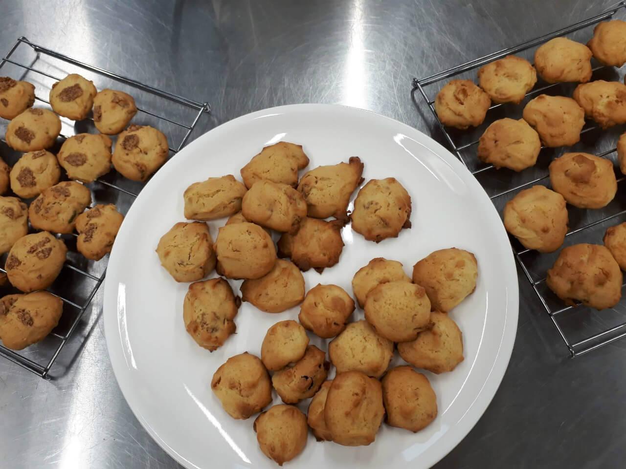 2018製菓実習クッキー1
